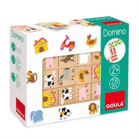 DOMINOS ANIMAUX FERMES
