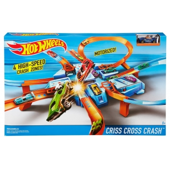 MATTEL - HOT WHEELS CRISS CROSS CRASH