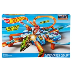 MATTEL - HW CRISS CROSS CRASH