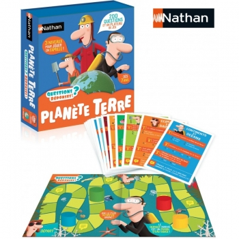 NATHAN - QUESTION/REPONSE PLANETE TERRE
