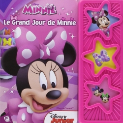 LIVRE MUSICAL LE GRAND JOUR DE MINNIE