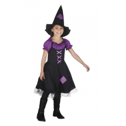 COSTUME SORCIERE IMPERIAL  4-6 ANS