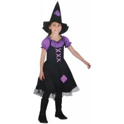 COSTUME SORCIERE IMPERIAL 7-9 ANS