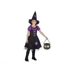 COSTUME SORCIERE IMPERIAL 10-12 ANS