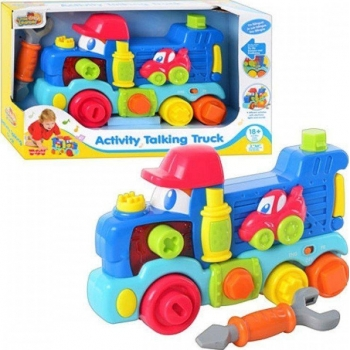 HAPPKID - ACTIVITY TALKING TRUCK