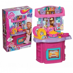 DEDE - CUISINE MY LITTLE PONY 16 PCS