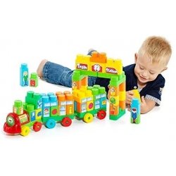 MOLTO - TRAIN DE BLOCS 70 PCS